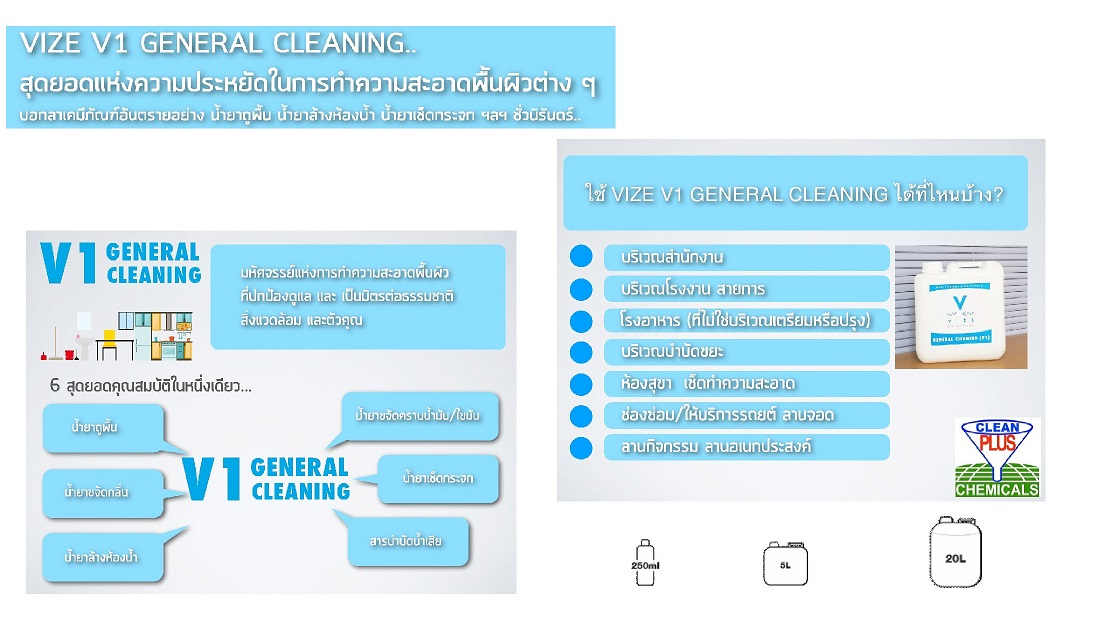 clean plus chemicals